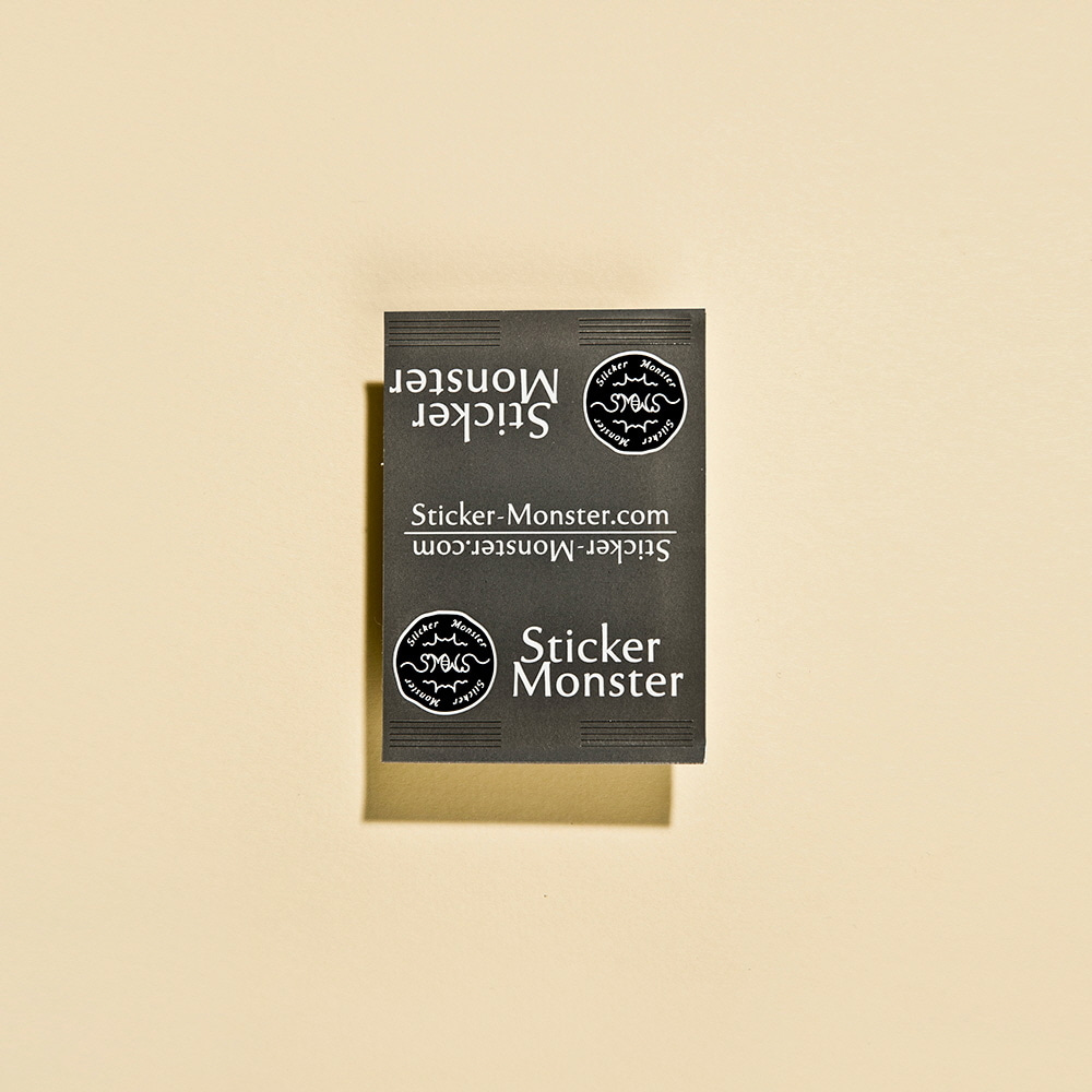 [30%]&nbsp Sticker Monster Logo &nbsp(스티커 100장)