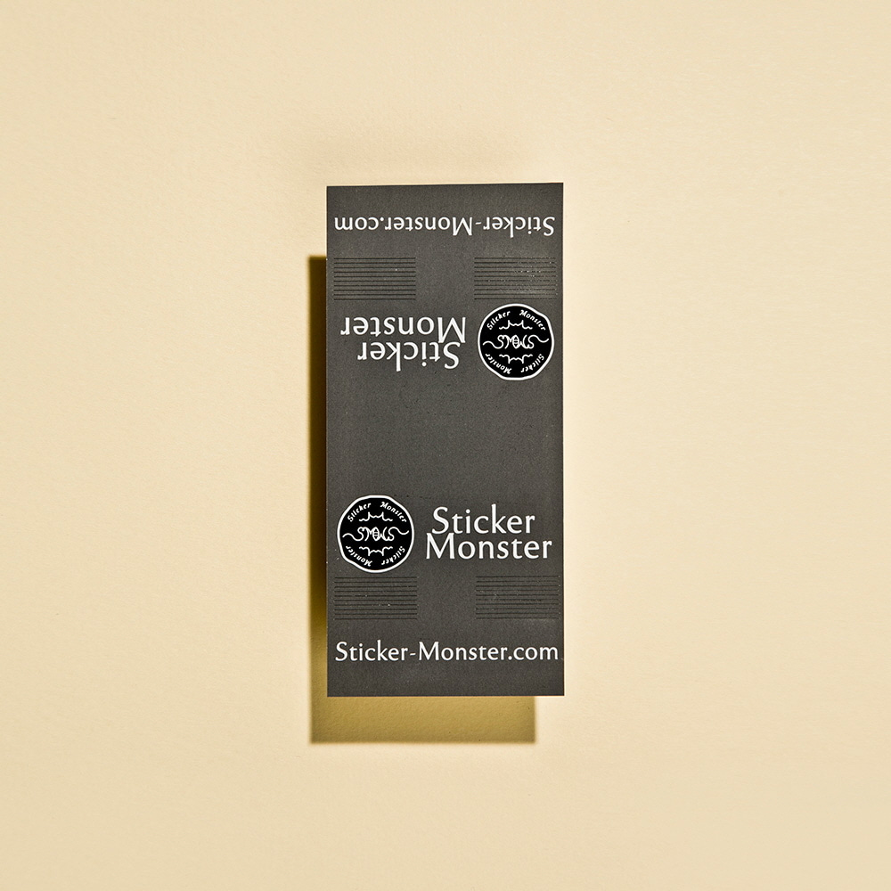 [50%]&nbsp Sticker Monster Logo &nbsp(스티커 100장)